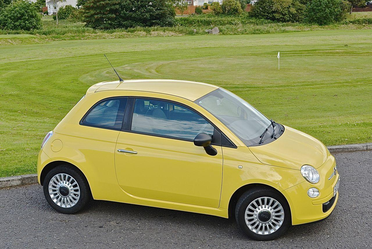 fiat 500 1 2 pop yellow guaranteed car finance. Black Bedroom Furniture Sets. Home Design Ideas