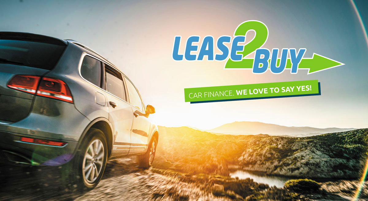 Lease2Buy car finance. We love to say yes!